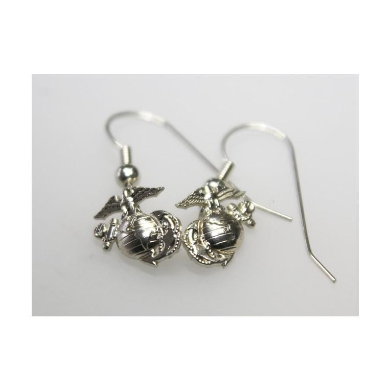 Marine Corps Earrings